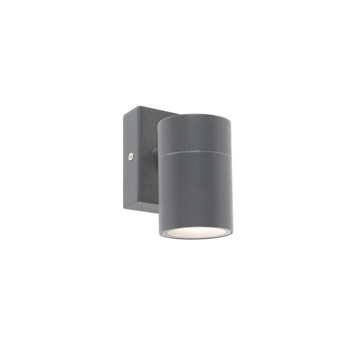 Buitenwandlamp-antraciet-IP44---Solo