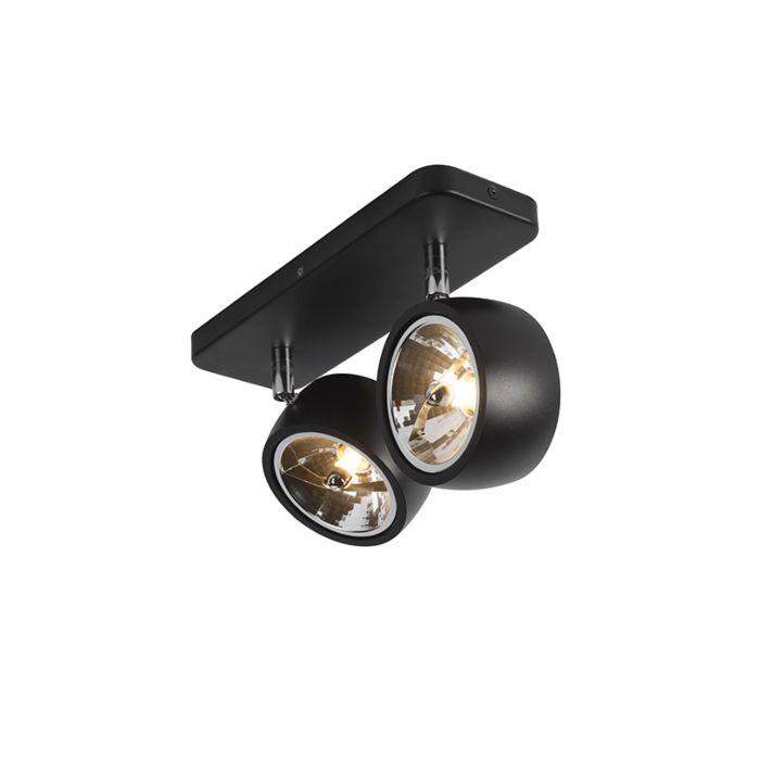Design-spot-zwart-verstelbaar-2-lichts---Go-Nine-2