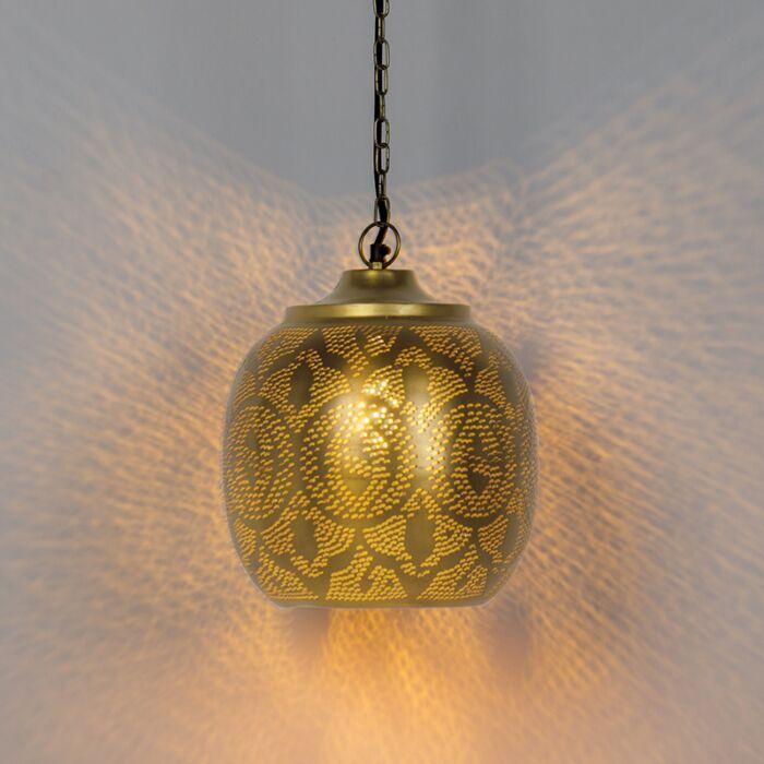 Oosterse-hanglamp-goud---Zayn-4