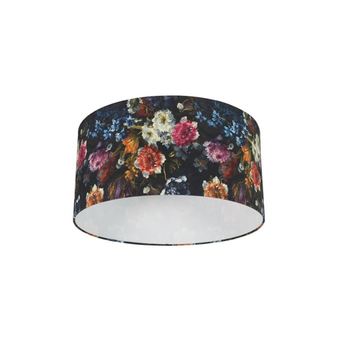 Katoenen-lampenkap-50/50/25---Flora