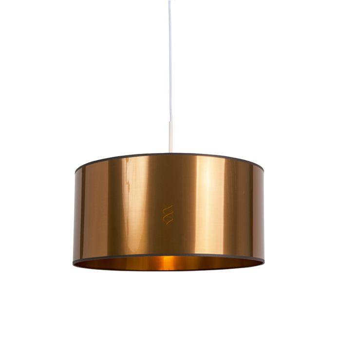 Design-hanglamp-wit-met-koper-kap-50-cm---Combi-1