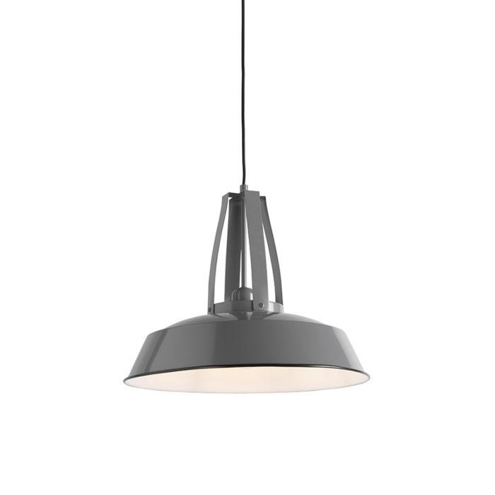 Vintage-hanglamp-grijs-43-cm---Living