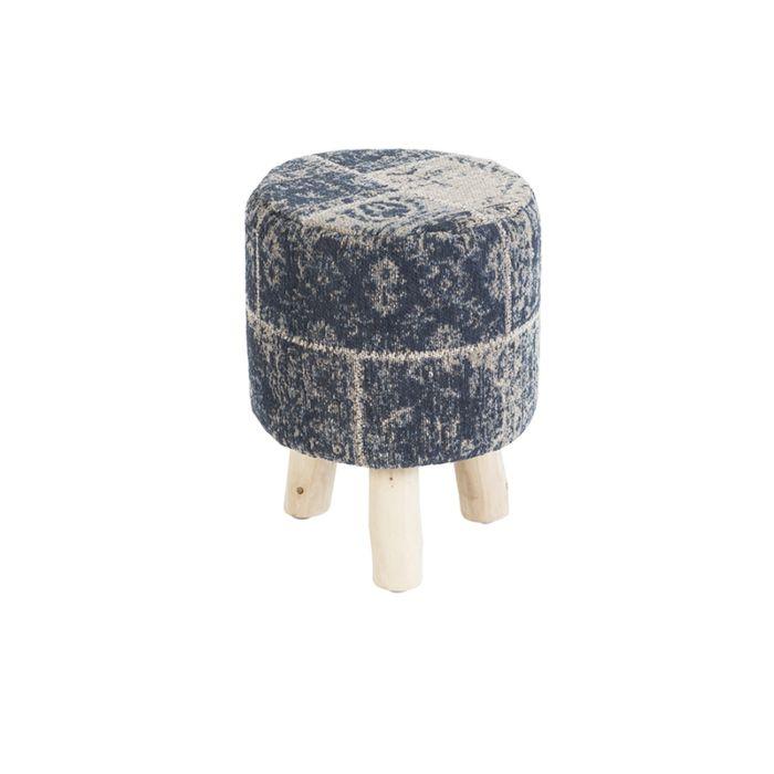 Vintage-rond-krukje-blauw-30-x-30-x-40cm---Agra