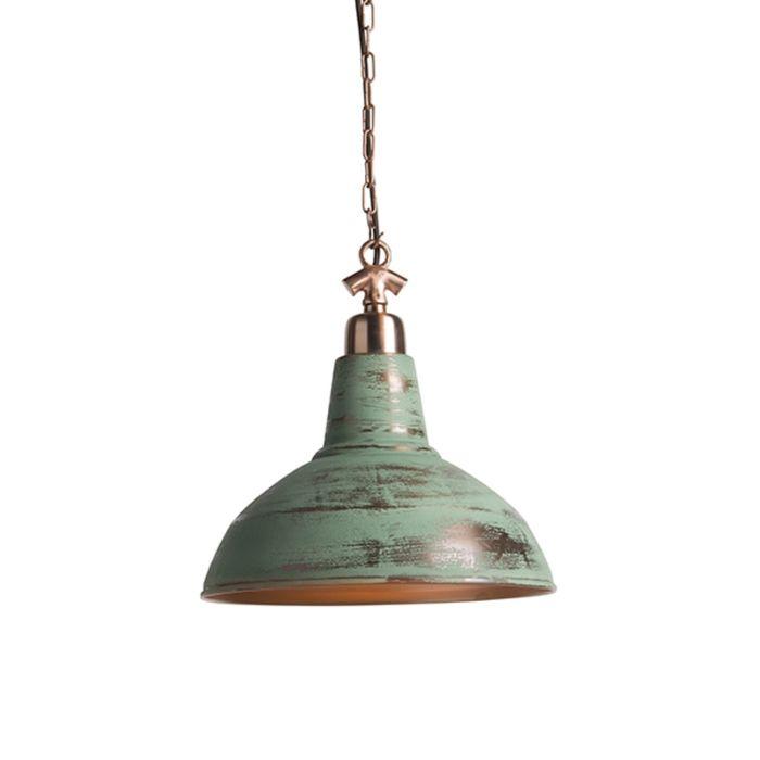 Industriële-hanglamp-antiek-koper---Goliath