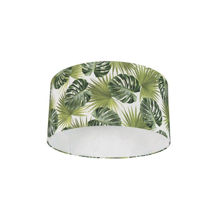 Katoenen-lampenkap-50/50/25---Leaf