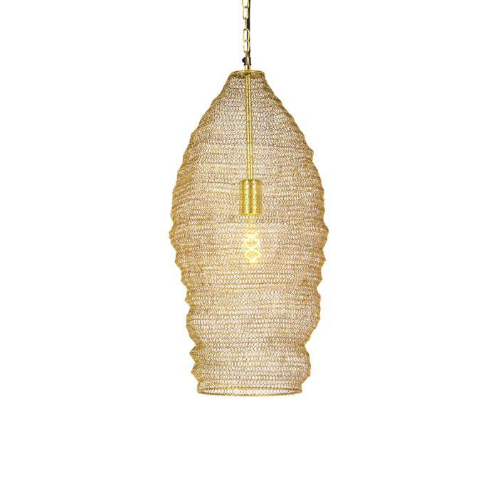 Oosterse-hanglamp-goud-25-cm---Nidum