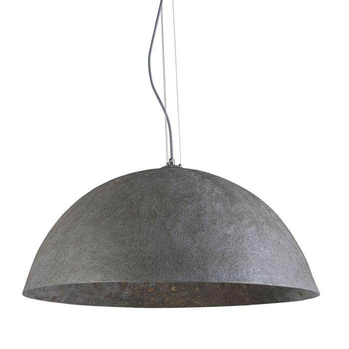 Hanglamp-Magna-70-grijs---zilver