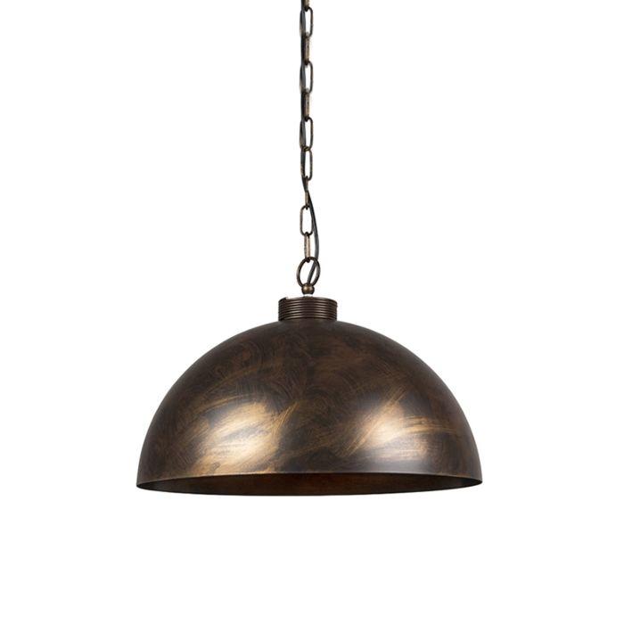 Industriële-hanglamp-roestbruin-50-cm---Magna-Classic