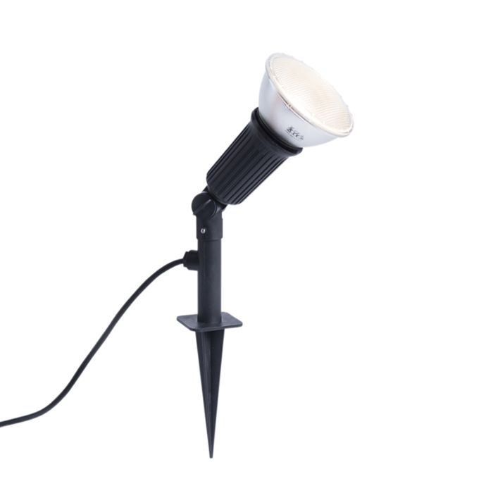 Prikspot-zwart-kantelbaar-incl.-E27-LED-lamp-IP44---Bonk