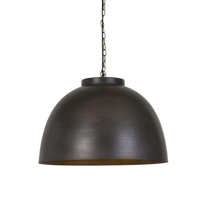 Industriele-hanglamp-60cm-antiek-bruin---Hoodi