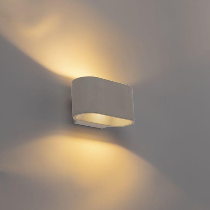 Landelijke-ovale-wandlamp-beton---Arles