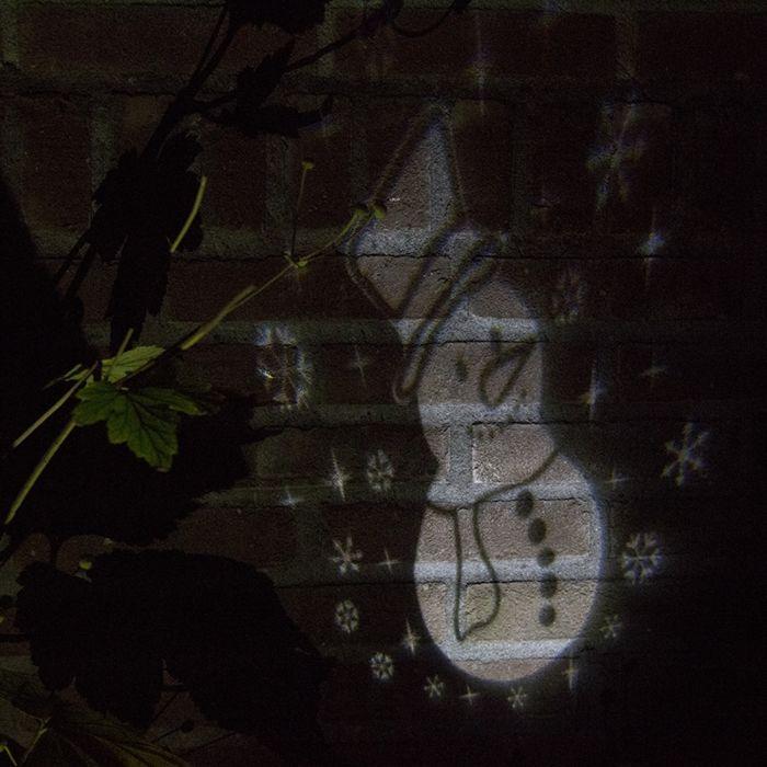 Kerstverlichting-Sneeuwpop-projector-LED-koel-wit