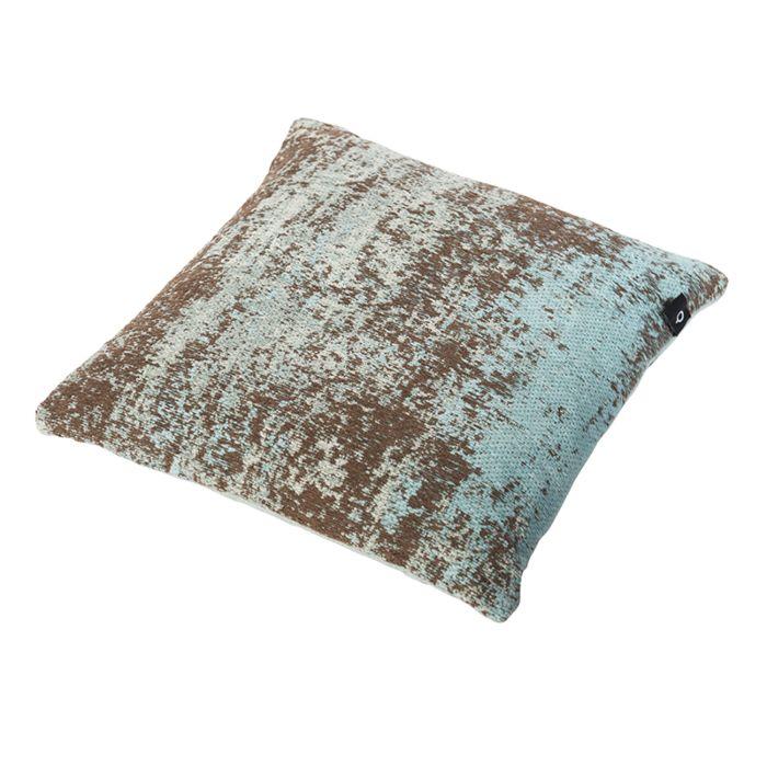 Vintage-vierkant-kussen-turquoise-45-x-45cm---Kochi