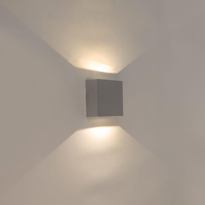Wandlamp-grijs-IP54-incl.-LED---Squad