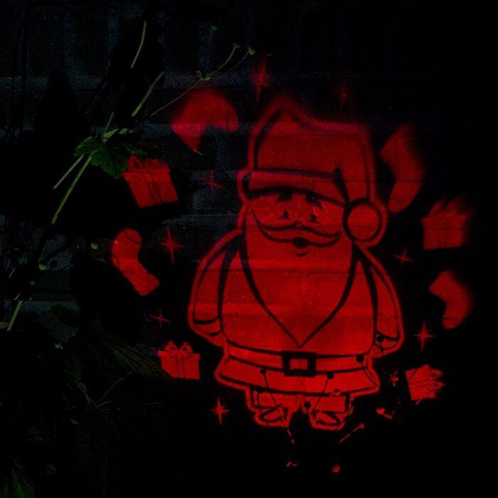 Kerstverlichting-Laser-projector-rood-Kerstman