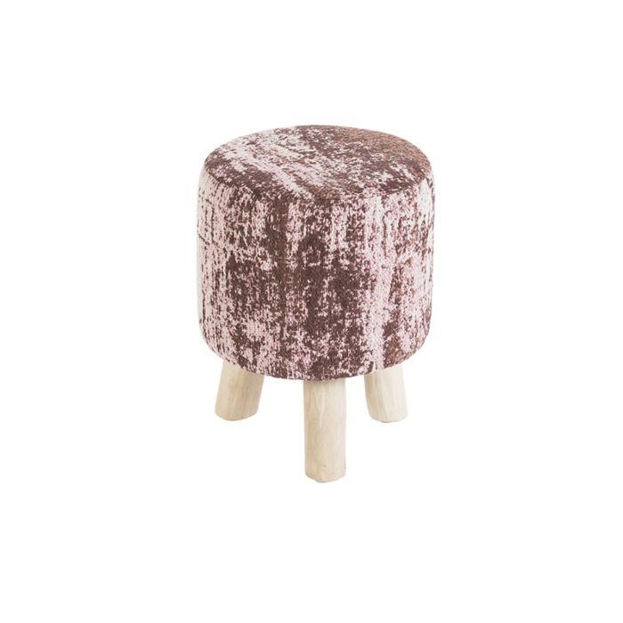 Vintage-rond-krukje-oud-roze-30-x-30-x-40cm---Kochi