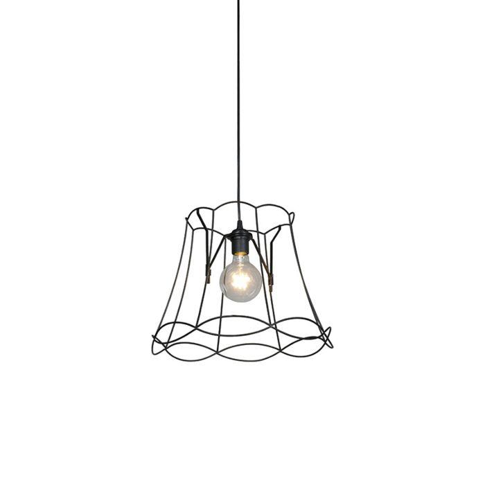 Retro-hanglamp-zwart-40-cm---Granny-Frame