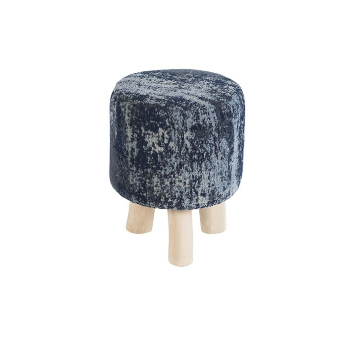 Vintage-rond-krukje-blauw-30-x-30-x-40cm---Kochi
