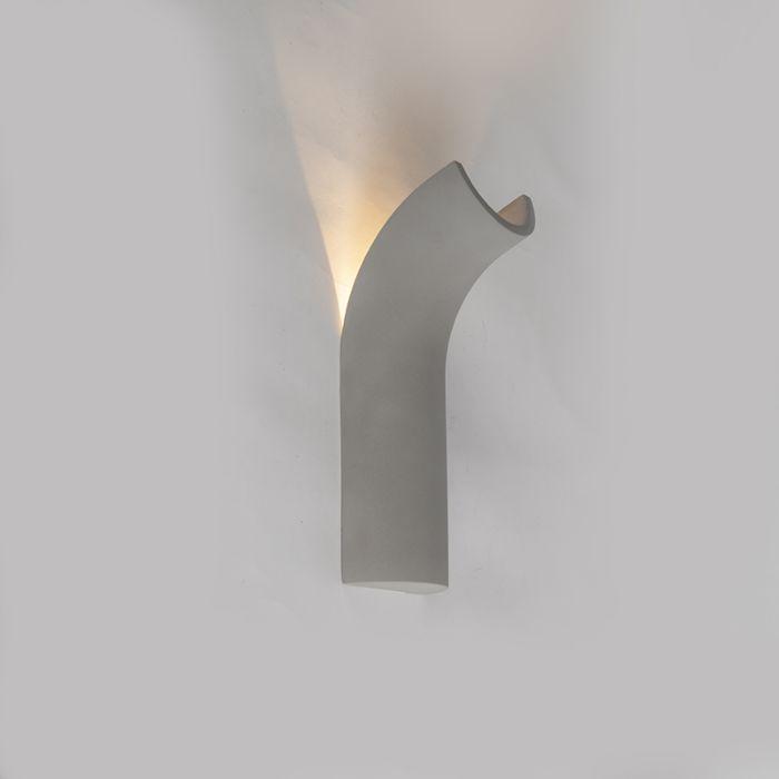 Industriële-wandlamp-beton-incl.-LED---Krit