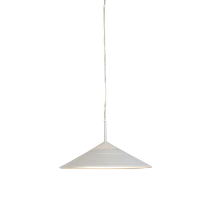Moderne-hanglamp-wit-incl.-LED---Lupos