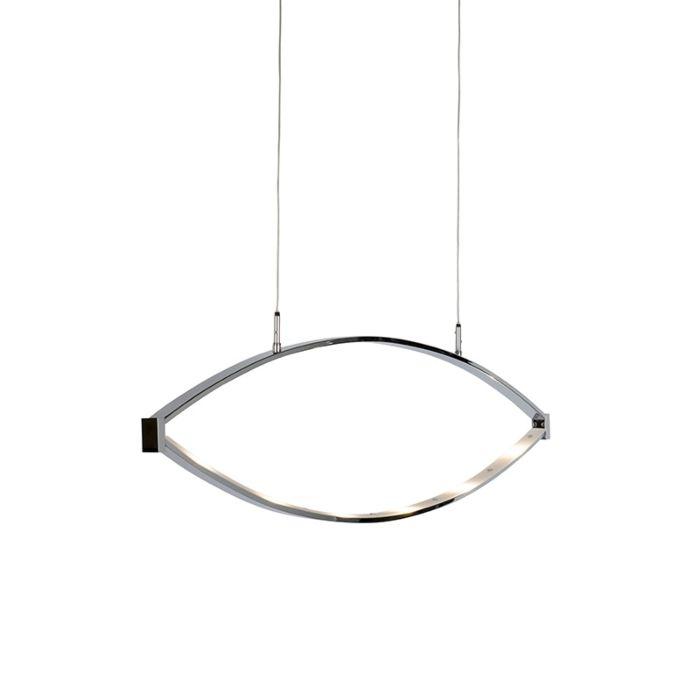 Design-hanglamp-chroom-incl.-LED-verstelbaar---Lois