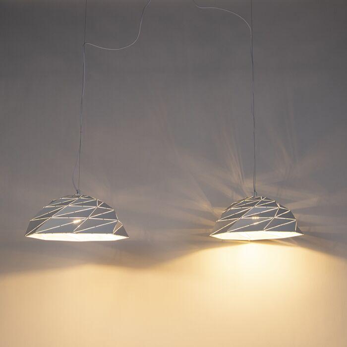 Art-Deco-hanglamp-wit-2-lichts---Lazuli