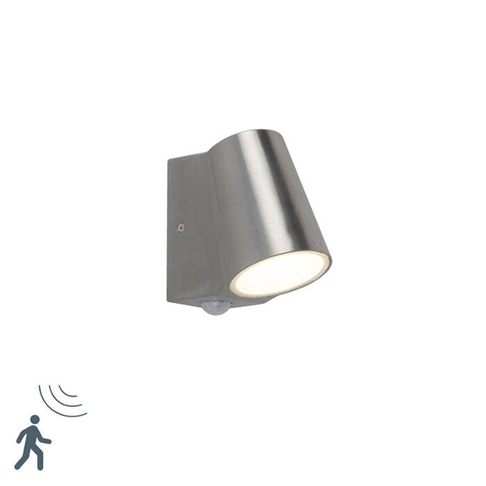 Buitenlamp-aluminium-met-bewegingssensor-incl.-LED---Uma