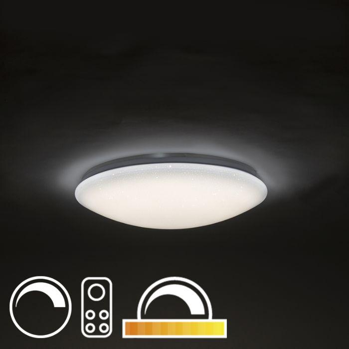 Plafondlamp-47-cm-stereffect-met-afstandsbediening-incl.-LED---Extrema