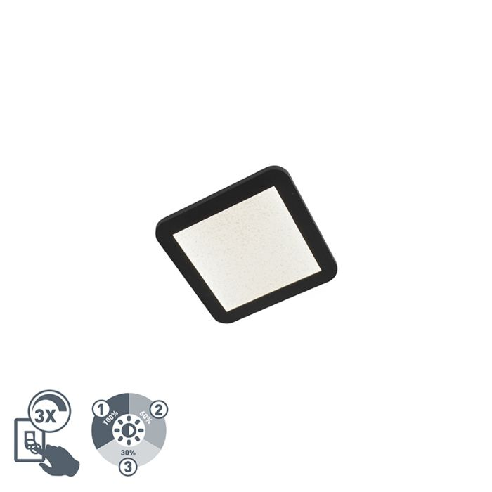Plafondlamp-IP44-3-staps-dimbaar-incl.-LED-22,5-cm---Steve