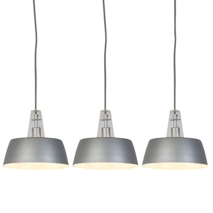 Set-van-3-moderne-hanglampen-grijs---Manu