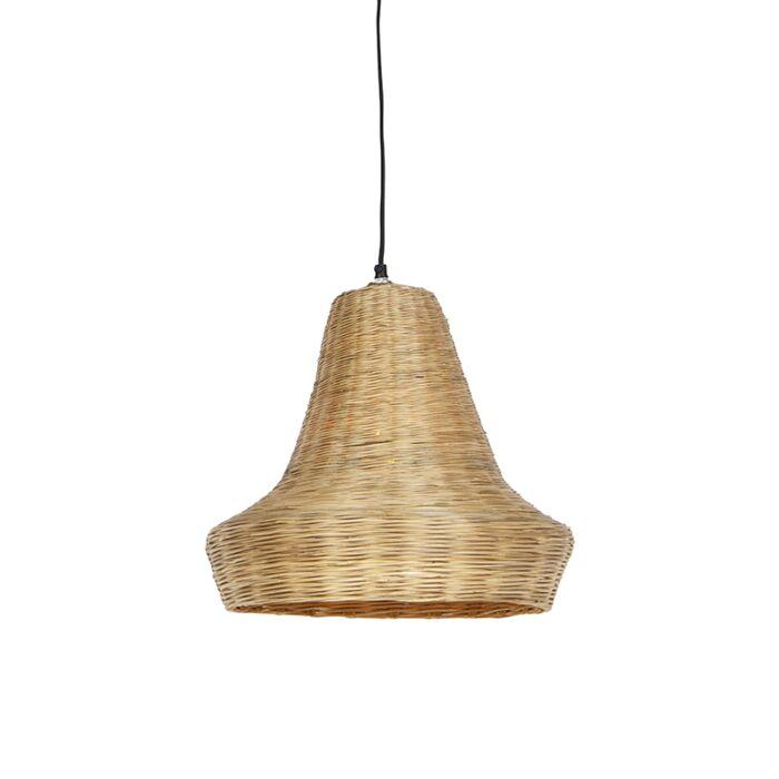 Landelijke-hanglamp-40cm-naturel-bamboo---Lolium