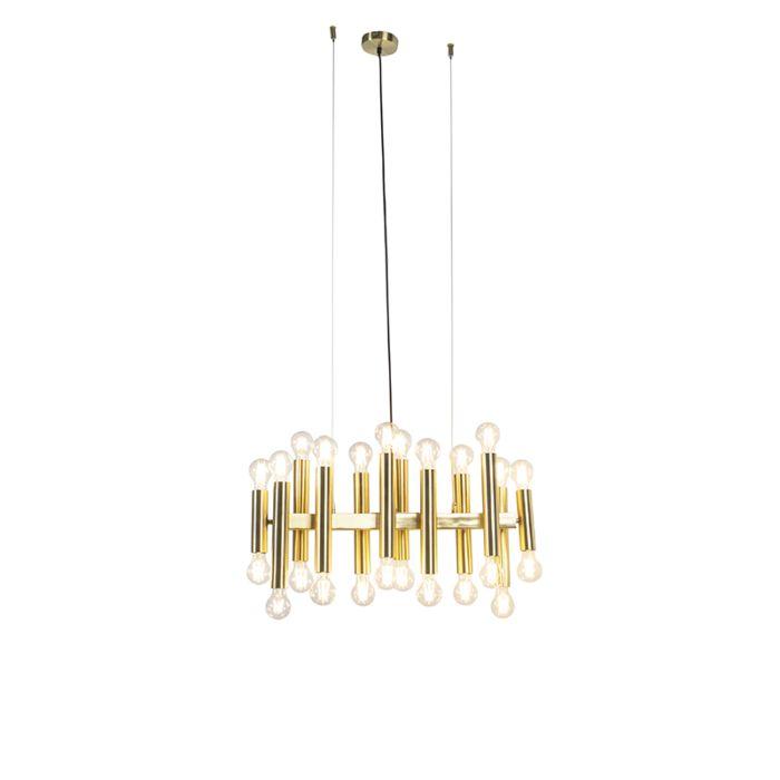 Art-deco-hanglamp-goud-24-lichts---Facil