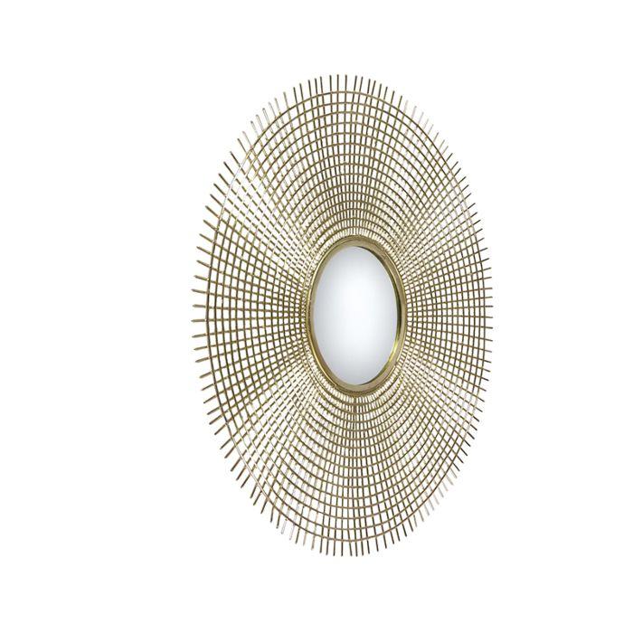 Art-deco-ronde-spiegel-78cm-goud---Edda
