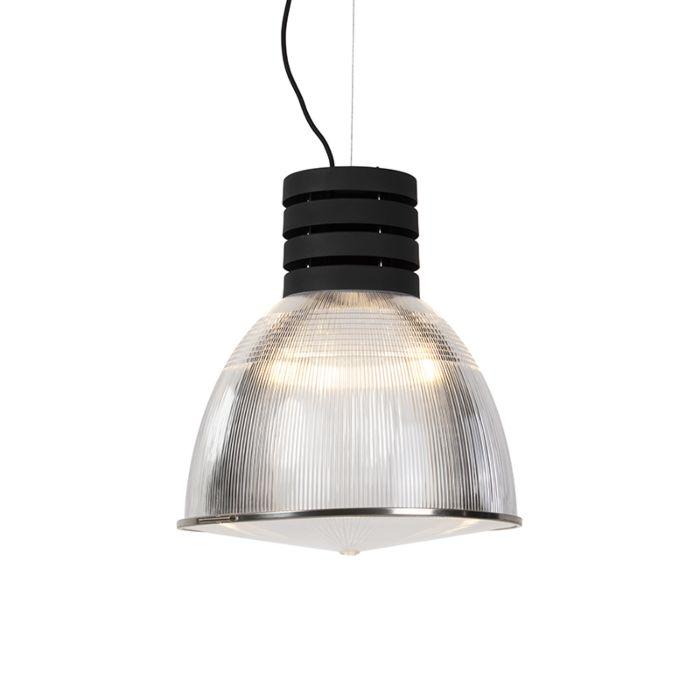Industriële-hanglamp-zwart---Industry