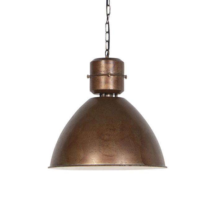 Industriele-hanglamp-roest---Flynn