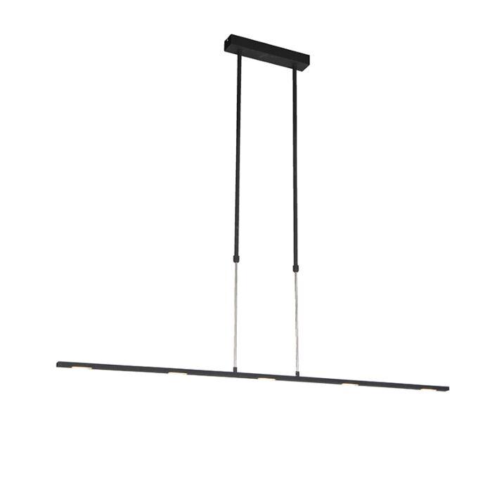 Moderne-hanglamp-LED-zwart---Bold