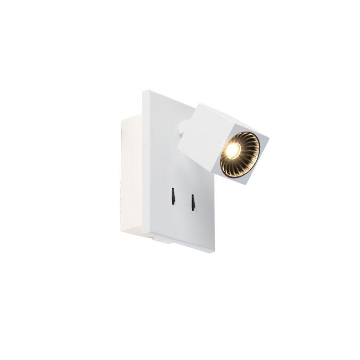 Moderne-wandlamp-wit-incl.-LED---Cupra