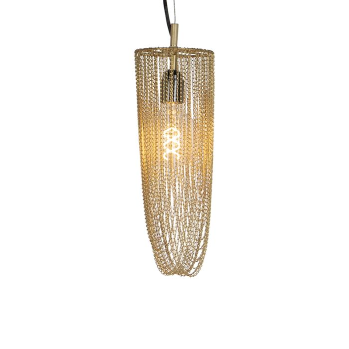 Oosterse-hanglamp-goud---Catena-Cabalto