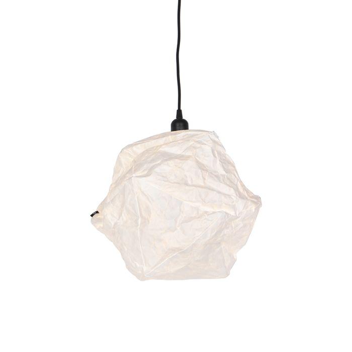 Scandinavische-papieren-hanglamp-wit---Pepa-Lua