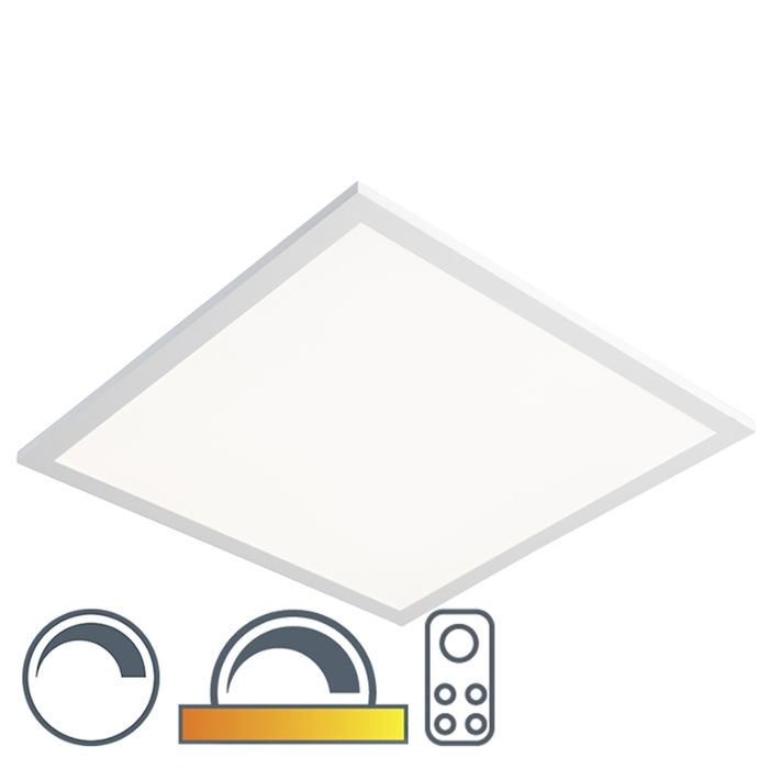 Plafondlamp-wit-45-cm-incl.-LED-met-afstandsbediening---Orch