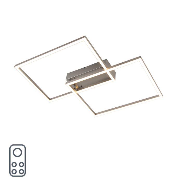 Plafonnière-aluminium-incl.-LED-en-afstandsbediening---Plazas-2