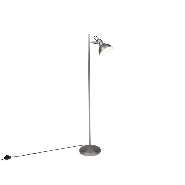 Industriële-vloerlamp-staal-1-lichts---Tommy