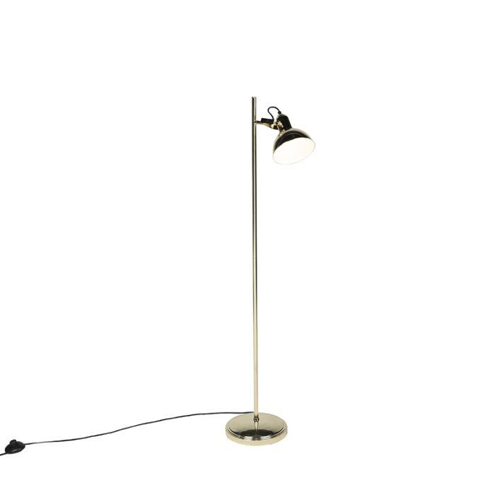 Art-Deco-vloerlamp-goud-1-lichts---Tommy