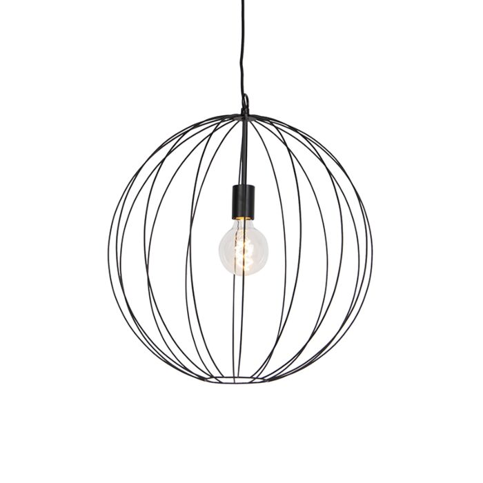 Design-ronde-hanglamp-zwart-50-cm---Pelotas