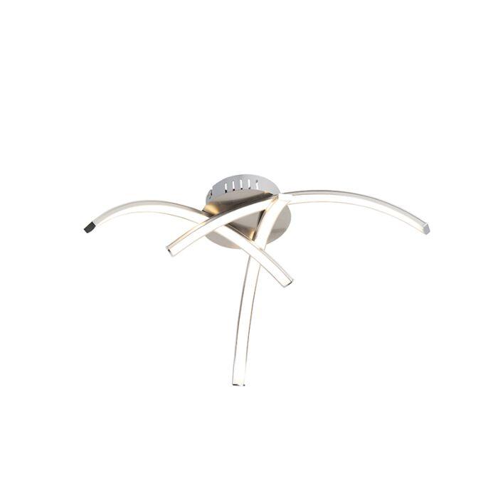 Design-plafondlamp-staal-3-lichts-incl.-LED---Faleri