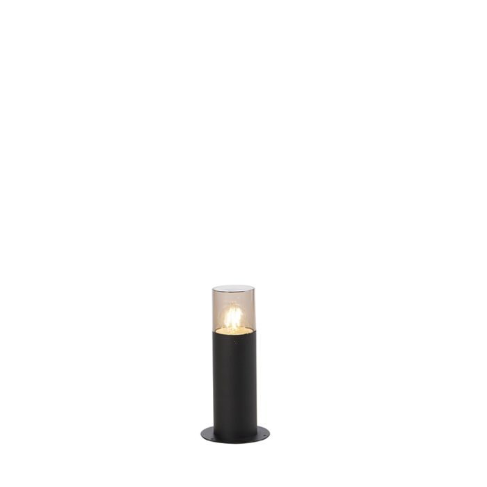 Moderne-staande-buitenlamp-zwart-30-cm---Odense
