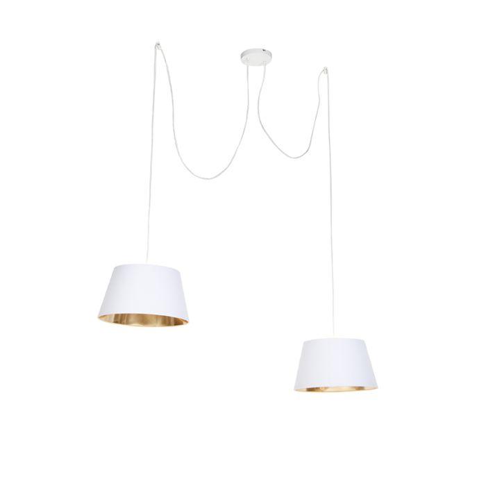 Moderne-hanglamp-wit---Lofty