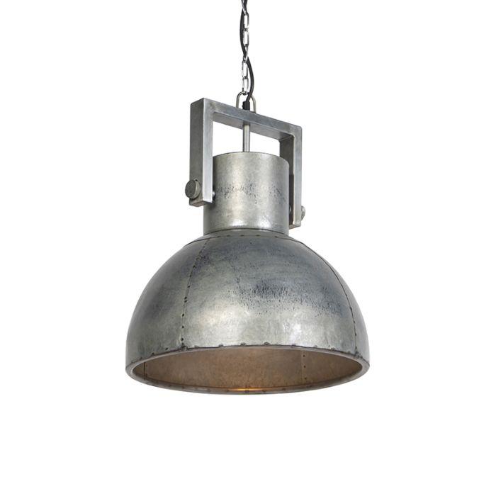 Industriële-hanglamp-grijs-40-cm---Samia