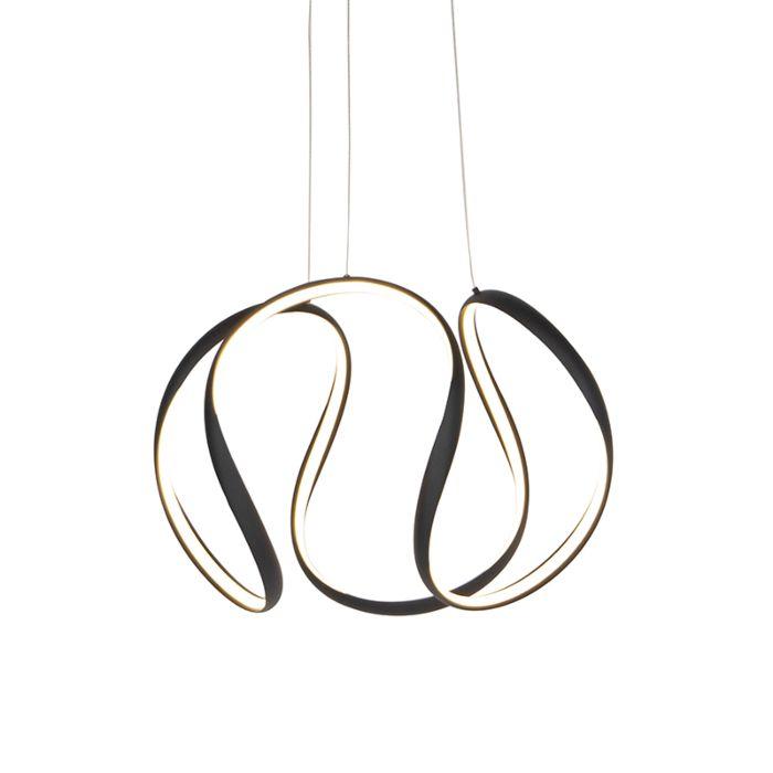 Design-hanglamp-zwart-dimbaar-incl.-LED---Rowana