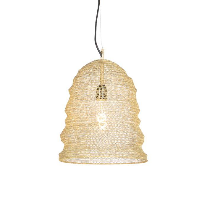 Oosterse-hanglamp-goud---Nidum-Garza